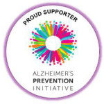 Proud Supporter of Alzheimer Prevention Badge