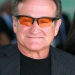 "photo of Robin Williams at the Los Angeles premiere of ""License To Wed""."