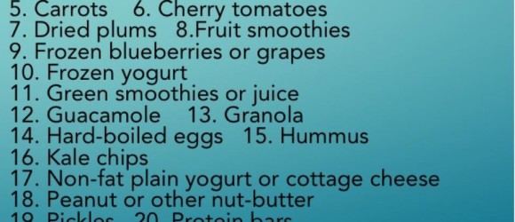 healthy snacks for caregivers