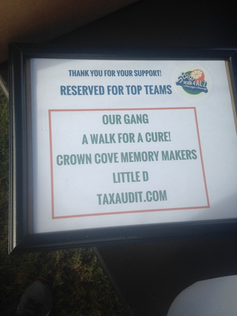 "A sign that says ""reserved for top teams"""